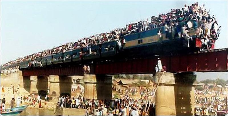Kereta Api Berpenumpang Terbanyak
